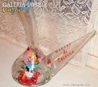 Különleges festett tengeri üvegárú