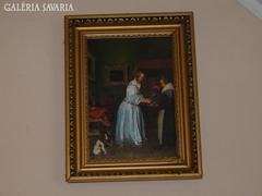A kézmosó nő / JAN STEEN 1650 körül/ NEM NYOMAT!