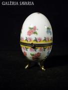 S710 Antik porcelán dísztojás jelzett