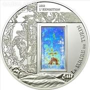 Torinói lepel - Hologramos ezüstérme Kamerunból