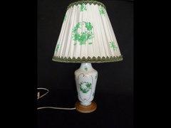 Y888 K17 Zöld indiai kosaras herendi lámpa 52 cm
