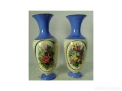 AB36 D6 Kandallóra való porcelán vázapár