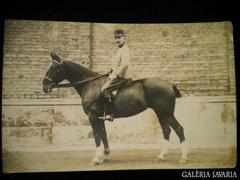 A155 R4 Katonatiszt lovon 1912
