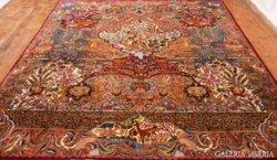 Kézicsomózású perzsaszőnyeg Irán! Édenkert! KIRÁLY!