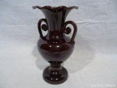 4773 I4 Antik BADÁR BALÁZS mezőtúri kerámia váza