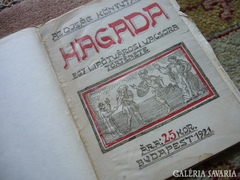 HAGADA, egy Lipotv. vacsora története 1921 JUDAIKA