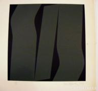 Haász István 35x35 cm szita 1979-es kis széria 1/5