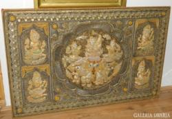 Monumentális thaiföldi kalaga remekmű falikép