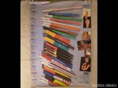 2454 T2 Retro ICo reklám plakát és naptár 1985