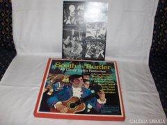Bakelit lemez album - 4 darabos - latin zene 1971