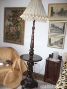 Szecessziós, állólámpa frissen felújított.M:210 cm