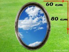 3153 T0 Antik hatású ovális csiszolt tükör