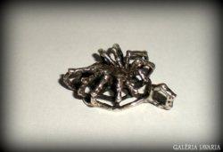 Régi, feketeözvegy ezüst medál (925)