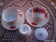 2 személyes kávés, kapucsínós csésze / öt db /