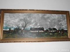 Szegvári Károly festmény
