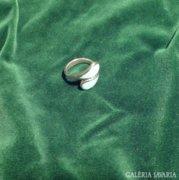 TÜRKIZKÉK  betétes ezüst gyűrű