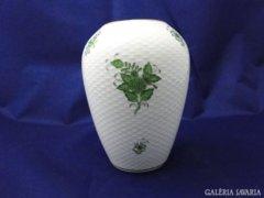 3982 Régi zöld Apponyi herendi váza