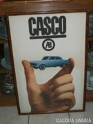 Casco reklám plakát