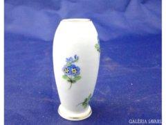 7362 Régi kisméretű óherendi porcelán váza 6,5 cm