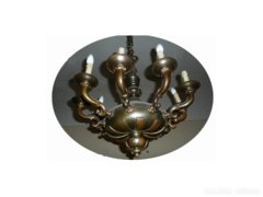 C415 Antik bronz alakos 10 karú csillár