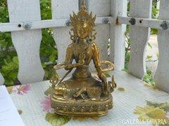Sárgaréz indiai szobor (21cm) Alkudható!