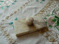 Antik márvány onix ? papírnehezék