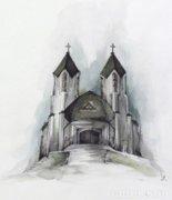 SR jelzéssel : Katolikus templom
