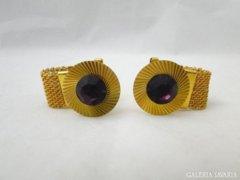 8155 Elegáns aranyszínű mandzsetta pár