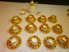 Kuriózum! Royal Albert Lady Hamilton Angol teás/sütis12 sz