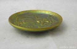 8974 Zsolnay eozin mázas porcelán dísztányér