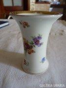Német antik, számozott porcelán váza (Bavaria)