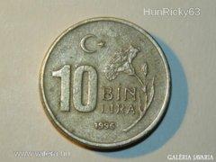 10 Bin Líra - Törökország - 1996.