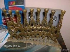 Gyonyoru szep bronz MENORA
