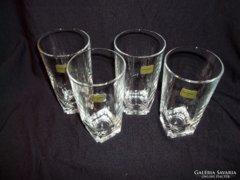 4db LUMINARC metszett üveg vizes/üdítős pohár 2dl