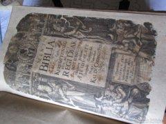 Káldi György: Elsö magyar BIBLIA 1626 Bécs EREDETI RMK