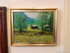 Podolyák Vilmos nagybányai festő eredeti festménye