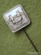 Antik, régi Lánchíd jelvény, kitűző