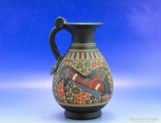 0A979 Görög festett kisváza kerámia kópia