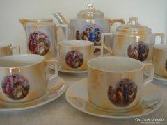 Zsolnay teáskészlet
