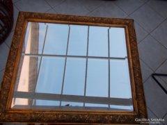 Antik tükör , fazettázott