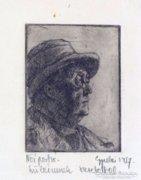 """Gyulai jelzéssel magyar művész 1937 : """"Női portré"""""""