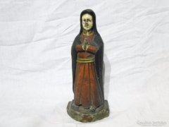6051 Antik Szűz Mária fa szobor