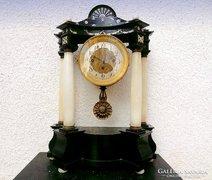 Biedermeier asztali / kandalló / óra