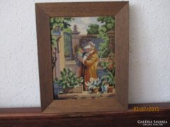 Német festményről készült Gobelin / Goblein
