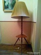 RETRO álló lámpa lerakó asztalkás