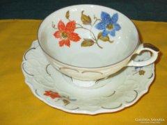 17032 Antik Bavaria csésze és kistányér