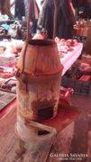 Mini kohó régi bádogos szerszám melegítésére