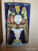 Szilágyi Mária kerámia falikép