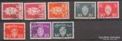 Norvég  szolgálati bélyegek. Ritkább.