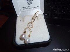 14K arany medál / gyöngy